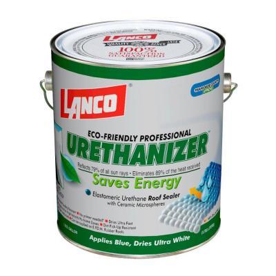 Pintura impermeabilizante urethanizer de color blanco 1gl LANCO