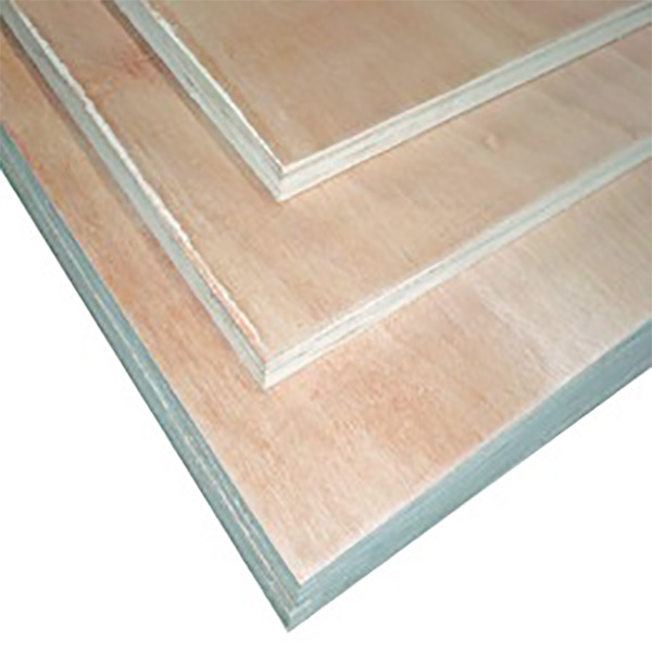 "Lámina de plywood regular de 4' x 8' x 3/4"" Okume"