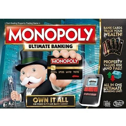 Juego de mesa Monopolio Ultimate banking - Hasbro