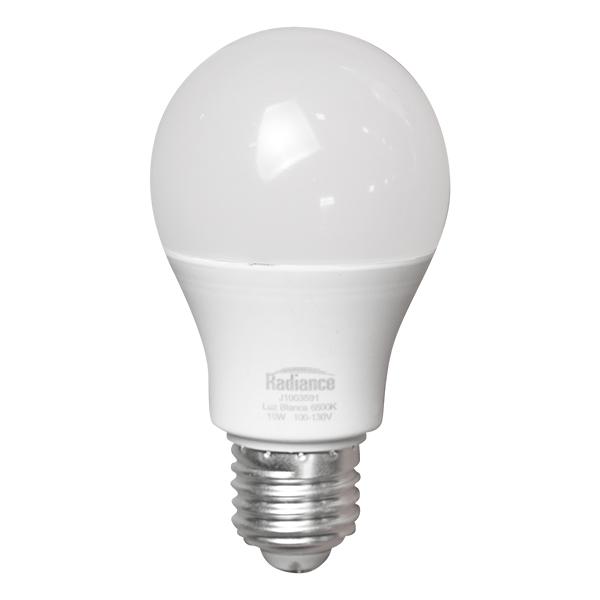Bombillo led de 10W A60 luz blanca RADIANCE