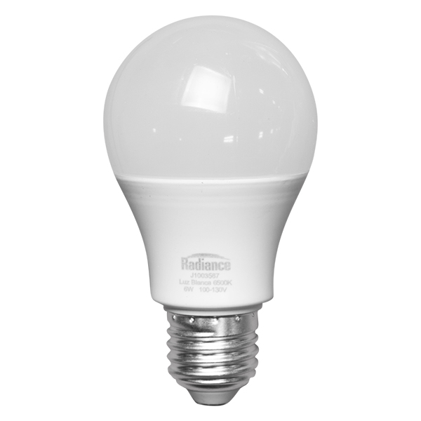 Bombillo LED de 6W y luz blanca RADIANCE