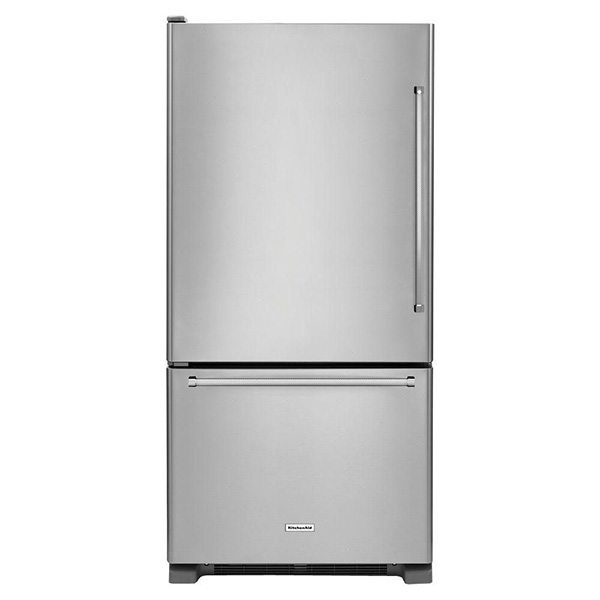 """Refrigeradora Bottom Mount 30"""" con capacidad 19 p3 KITCHENAID"""