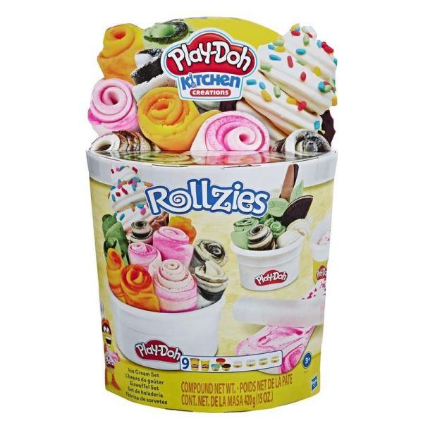 Play-Doh Kitchen Creations, set de juego Helados Rollzies