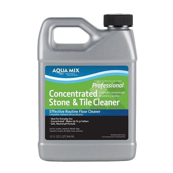 Limpiador concentrado de 946ml para piedras y azulejos AQUA MIX