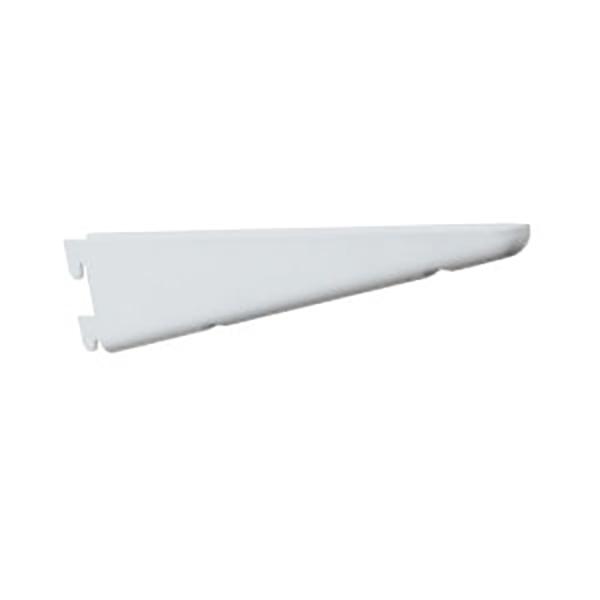 """Brazo de riel de 18.5"""" fuerte para tablilla color blanco KNAPE & VOGT"""