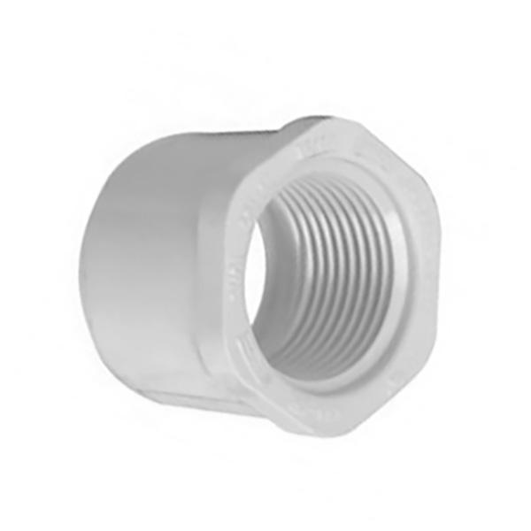 """Reducción de PVC de 1"""" x 1/2"""" calibre 26 para agua"""
