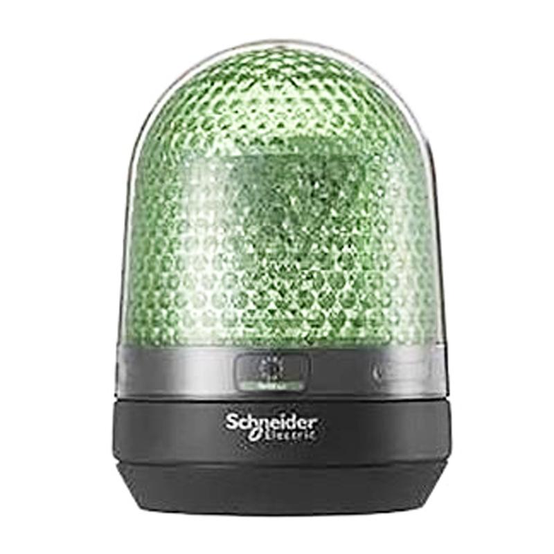 Modulo luminosos LED sin zumbador de 100-230V de color verde SCHNEIDER ELECTRIC