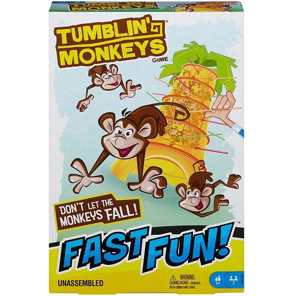 Juego de mesa para niños Monos Locos - Mattel Games