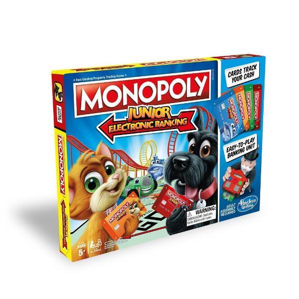 Juego de mesa Monopolio Junior banca electrónica - Hasbro