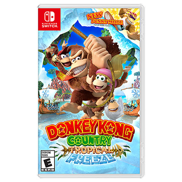 Videojuego Donkey Kong Country, Tropical Freeze- Nintendo Switch