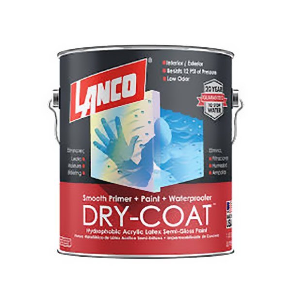 Dry coat semi gloss  base tint 1/4 galón (0.946 litros)