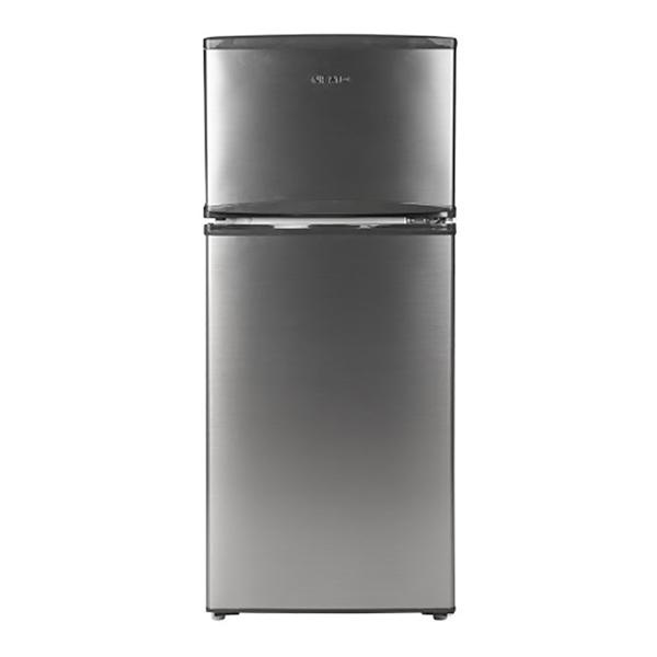 Refrigerador Top Mount de 2 puertas con capacidad de 197L color gris NISATO