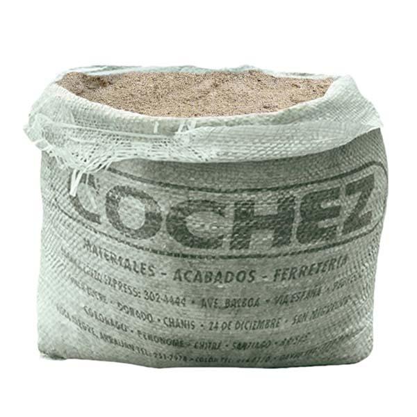 Arena en saco de 0.50 pie cúbicos COCHEZ