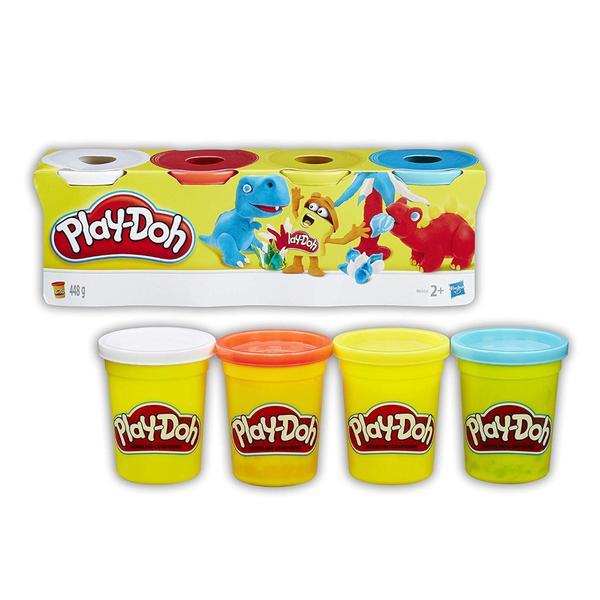 Classic color pack de 4 masillas - Play-Doh