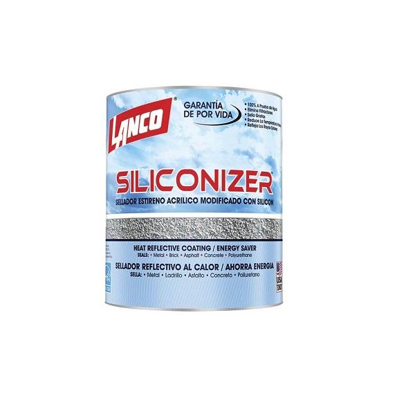 Sellador elastomérico acrílico para metal ladrillo y concreto siliconizer blanco