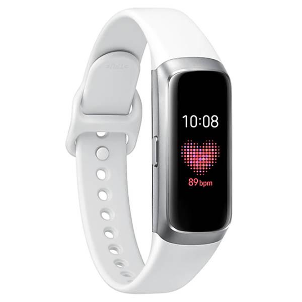 """Reloj Galaxy Fit con pantalla de 0.95"""" Amoled color plateado SAMSUNG"""