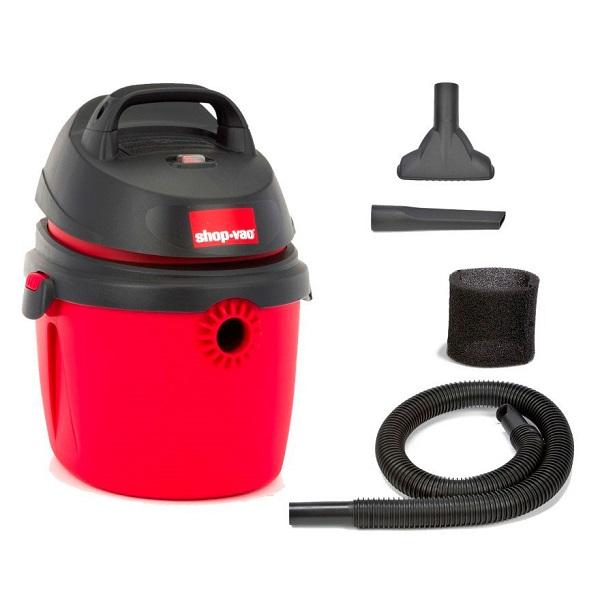 Aspiradora convencional seco/mojado de 2.0HP con capacidad de 9.5L color rojo/ne