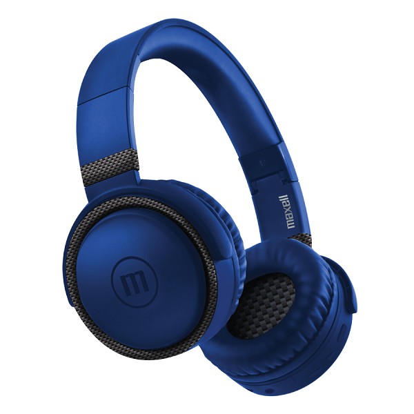 Audífonos B52 con bluetooth de color azul MAXELL