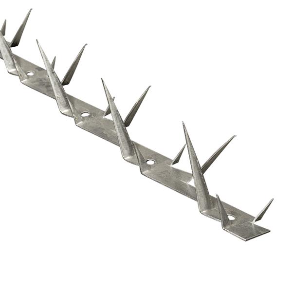 Púas galvanizadas de 1.45m tipo puntas de calibre 26 para muros