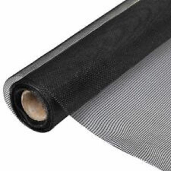 Malla de sarán de 1m x 5m de color negro GARDEN BASICS