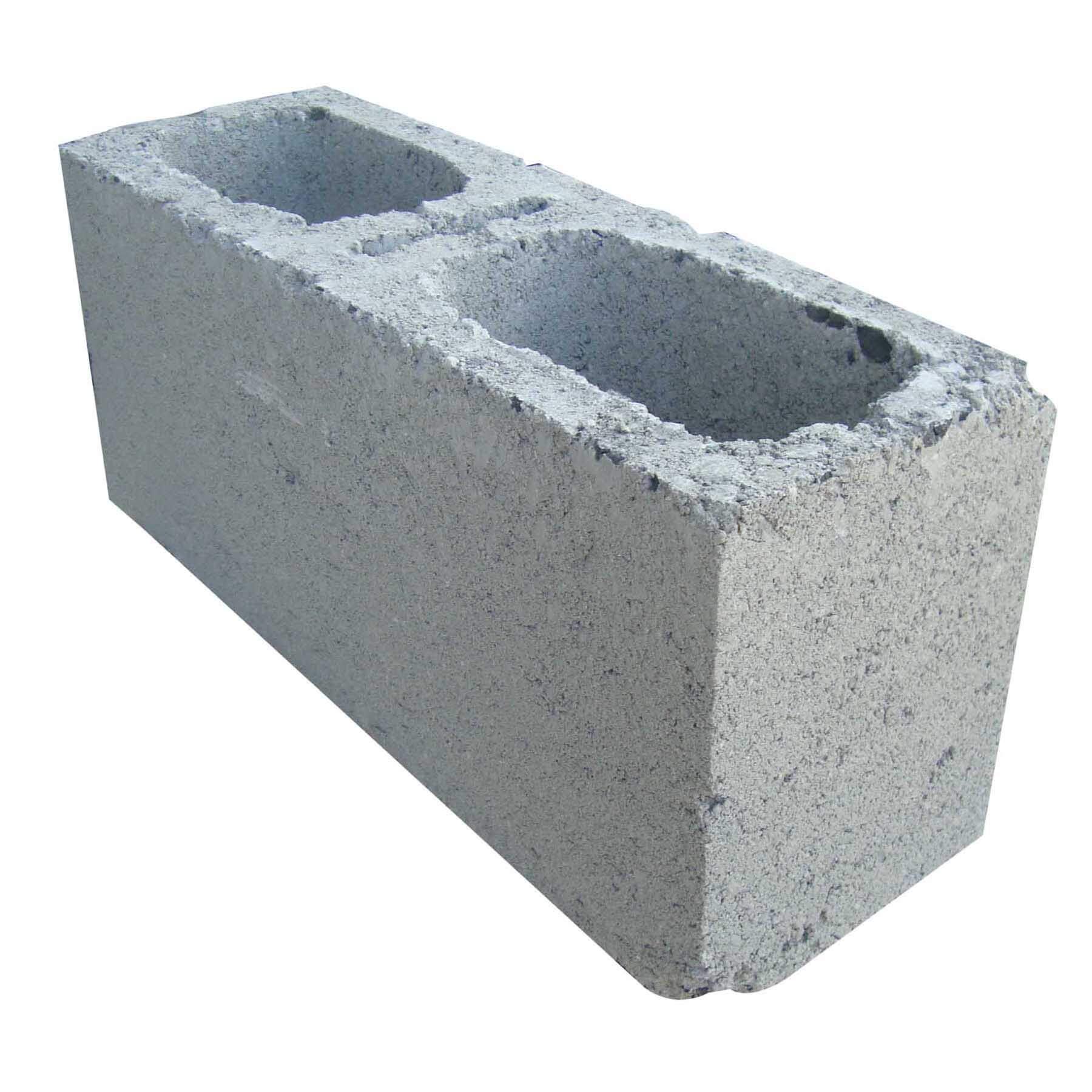 """Bloques de Concreto de 6"""" x 16"""" de color gris"""