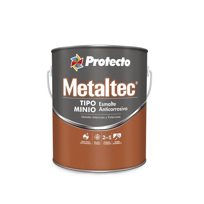 Pintura de esmalte Metaltec para interior y exterior  de acabado mate de color b