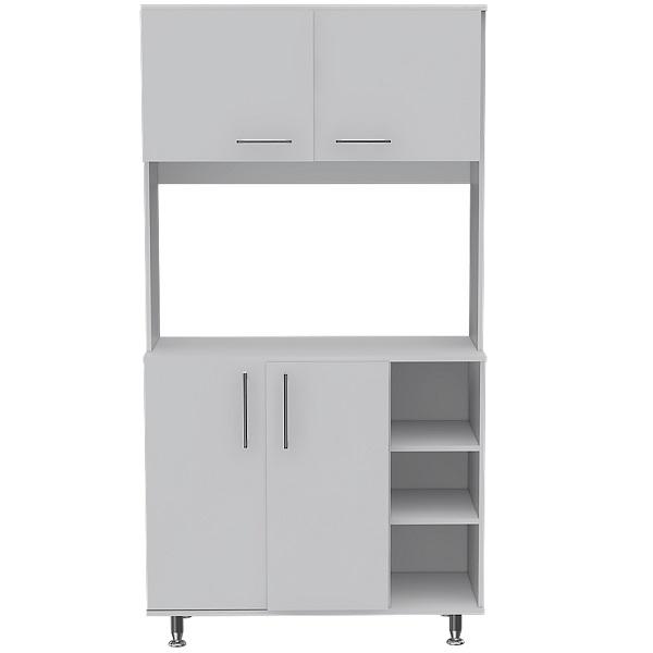Mueble de alacena de 180cm x 95cm x 40cm modelo Alacena 95 de color blanco RTA