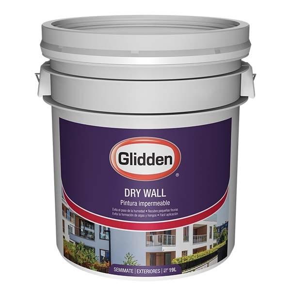 Pintura impermeabilizante dry wall de base deep 5gl GLIDDEN