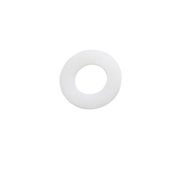 """Arandela de plástico de 1 1/2"""" de color blanco"""