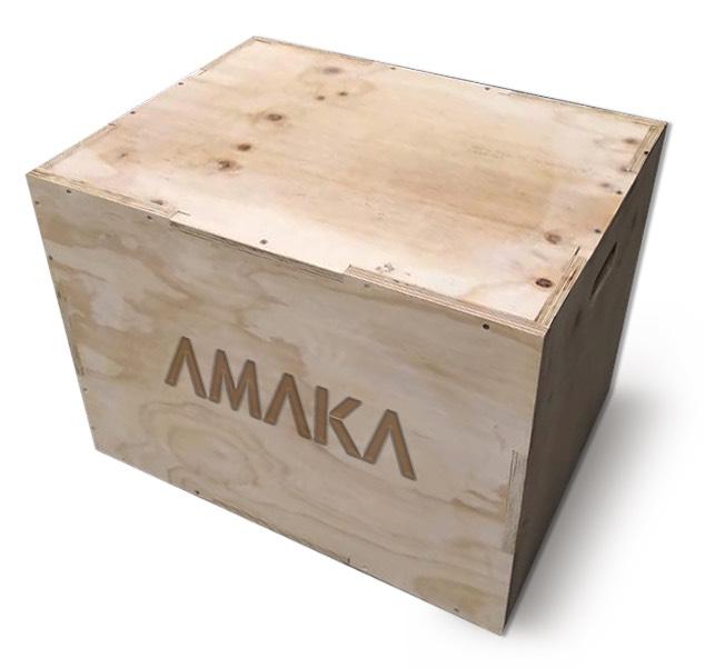 Caja para Crossfit 16X14X12 IN