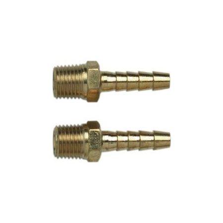 Tuya de aire de compresor di/ámetro interior: 9,5 mm, di/ámetro exterior: 15 mm manguera neum/ática flexible para aire comprimido con conexi/ón de 1//4 pulgadas presi/ón m/áxima 20 bar