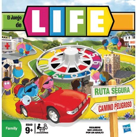 Juego de mesa Juego de la vida (Game of Life 1) - Hasbro