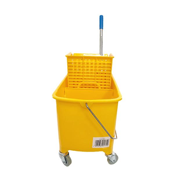 Cubo exprimidor de 20lt color amarillo GEOF