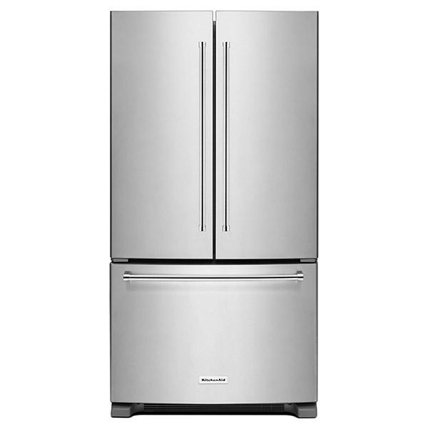 """Refrigeradora French Door de 36"""" con capacidad de 25 p3 KITCHENAID"""